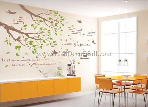 Merveilleux Home Wall Decals Come In A Variety Of Styles. Most Popular Are Wall Words,  Sayings, Or Phrases. These Can Be As Simple As U0027Welcome To Our Homeu0027 Or As  ...