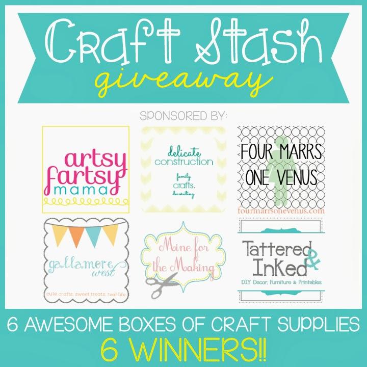 Craft Stash Giveaway - 6 Winners!! at artsyfartsymama.com