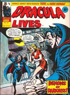 Marvel UK, Dracula Lives #48, Lilith