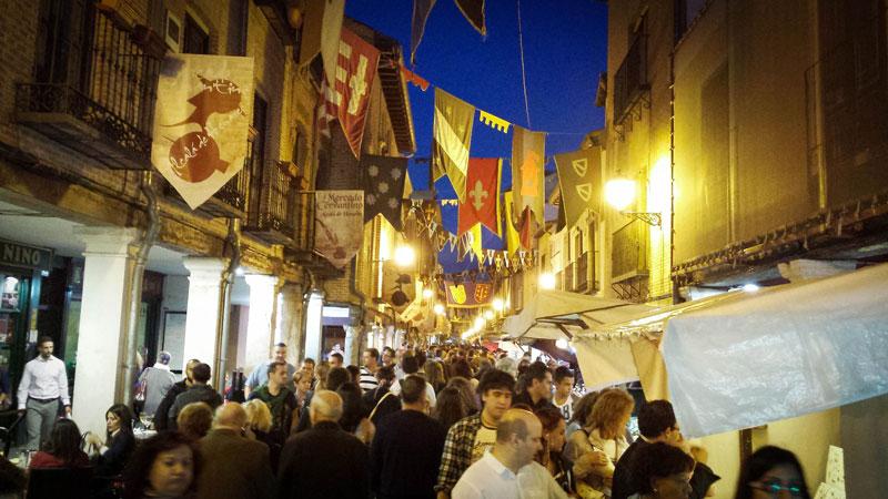 feria medieval, mas grande, madrid, alacala de henares, cervantes, lugares, semana cervantina, turismo, que hacer, españa,