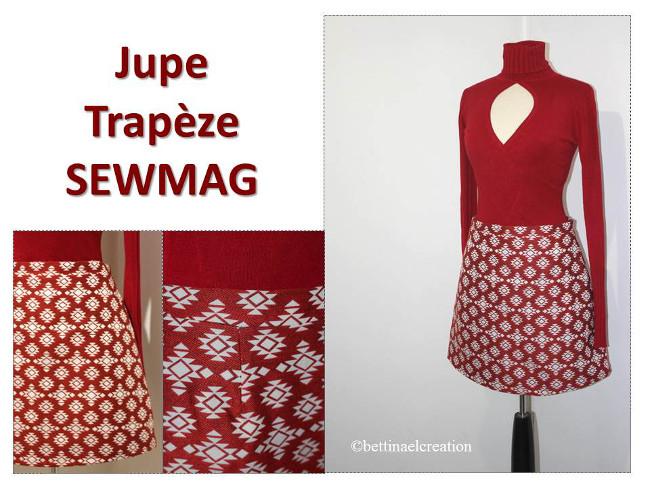 Ma jupe trapèze