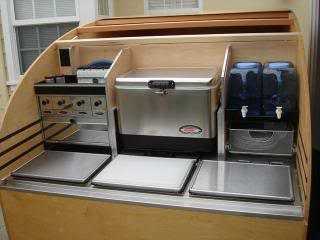 Todd 39 s teardrop blog designs on the perfect galley for Teardrop camper kitchen ideas