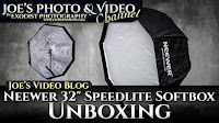 "Neewer 32"" Octagonal Speedlite Umbrella Softbox Unboxing 