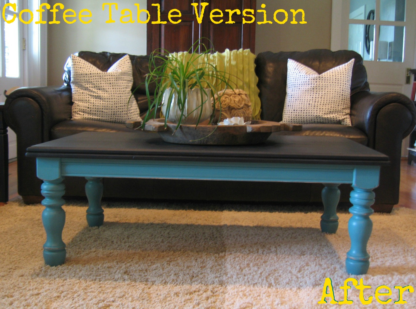 i have done several chalkboard coffee tables and they are apparently very popular because they sell extremely fast which makes me very happy chalk paint coffee table