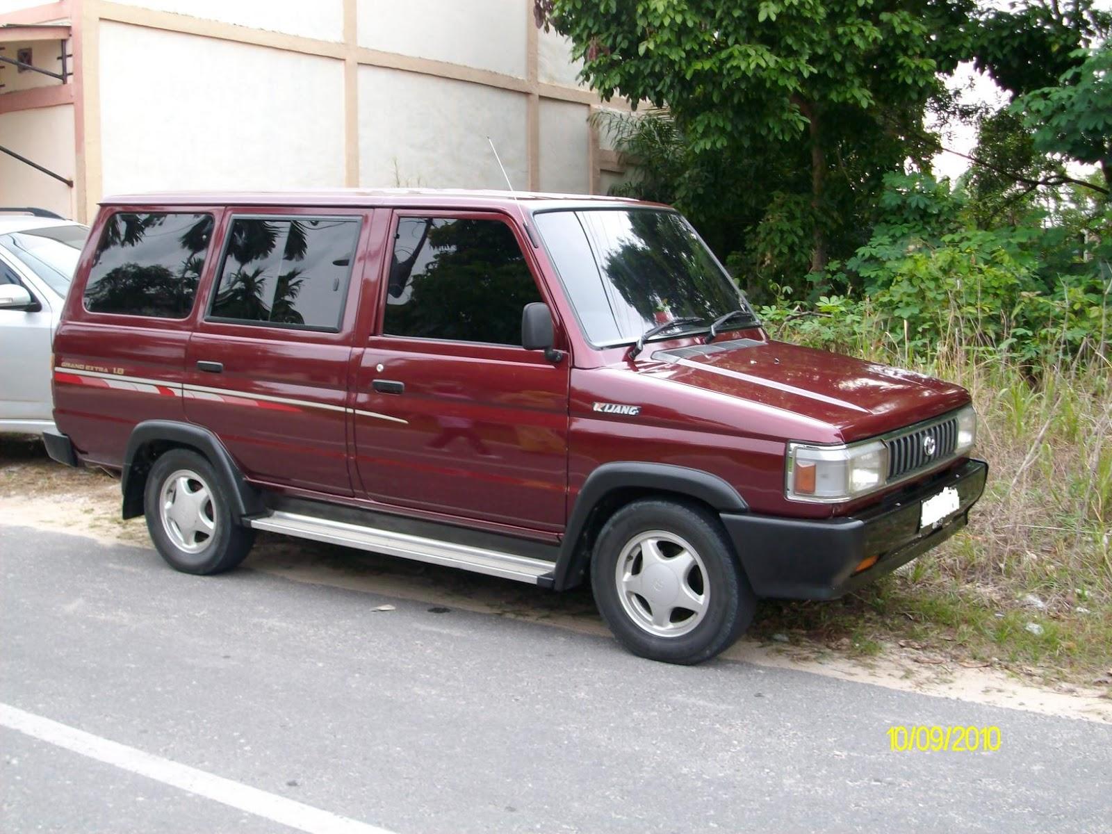 Dijual Toyota Kijang Grand Extra Sgx 1 8 Mobil Bekas ...
