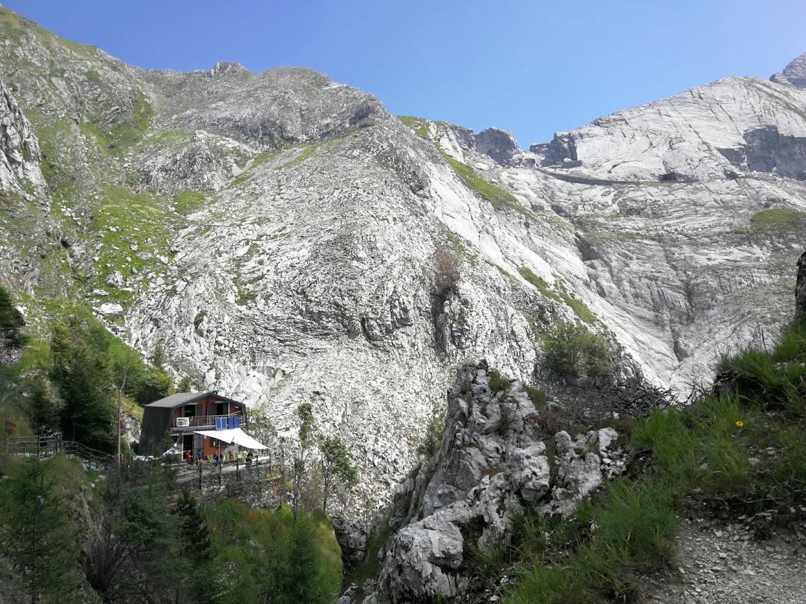 Resceto - Via Vandelli fino al Passo della Tambura