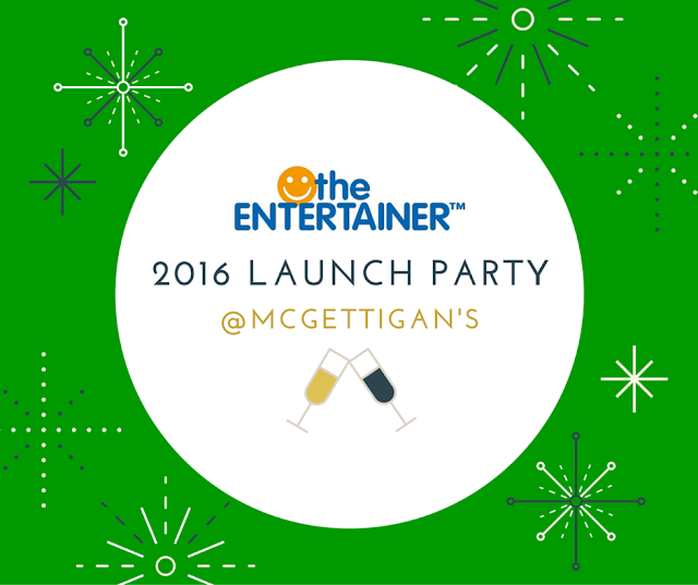 Entertainer 2016 Launch at McGettigan's Clarke Quay