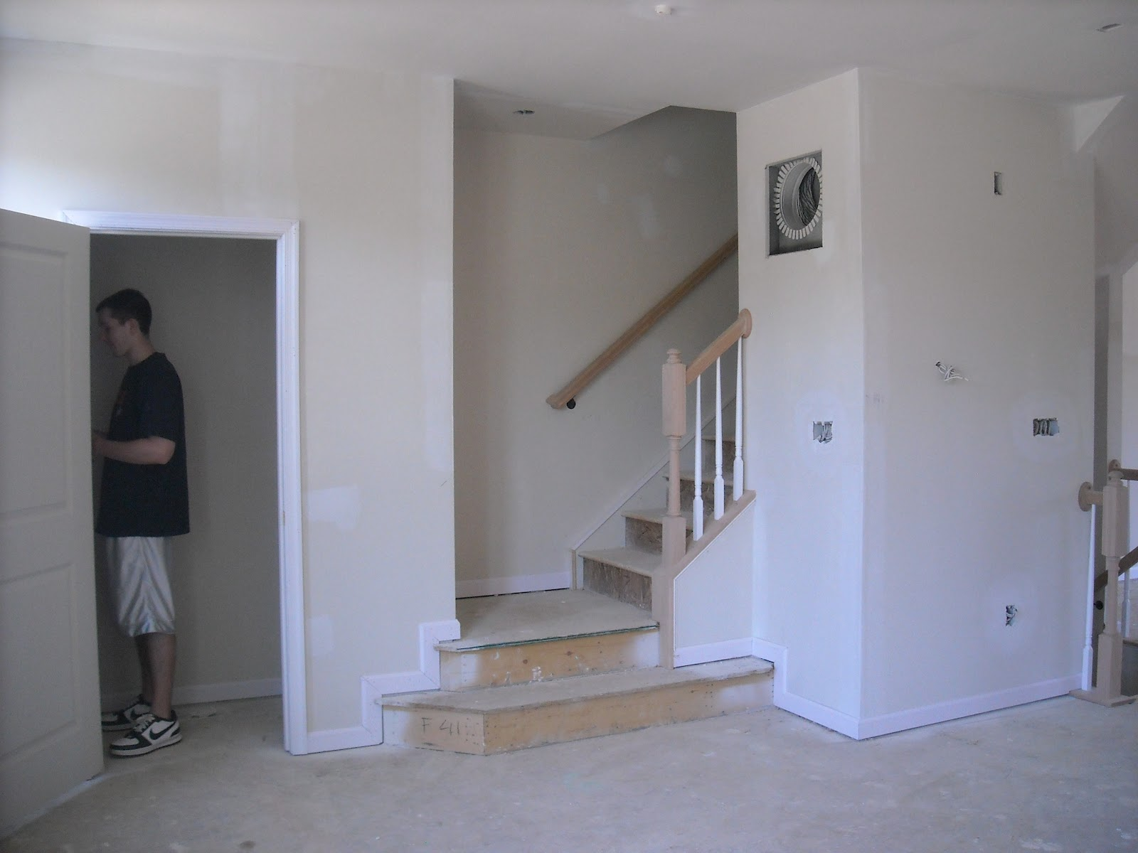 Stairs leading to 3rd floor
