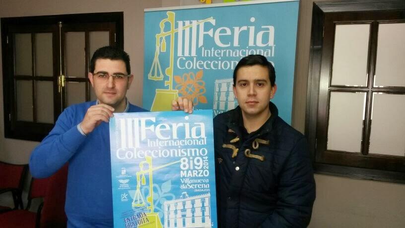 Presentación Feria coleccionismo 2014