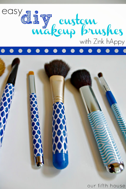 Easy DIY: Custom Makeup Brush Set