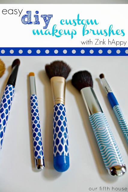 Easy Diy Custom Makeup Brush