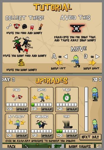 Zombie Feeder - Game de Zumbi