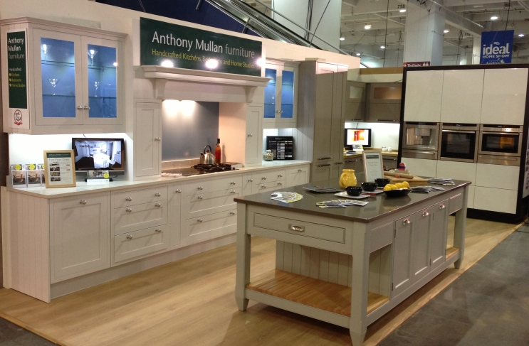 Digity Anthony Mullan furniture at the Ideal Home Show