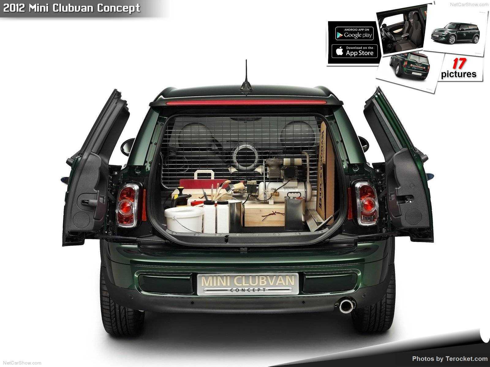 Hình ảnh xe ô tô Mini Clubvan Concept 2012 & nội ngoại thất
