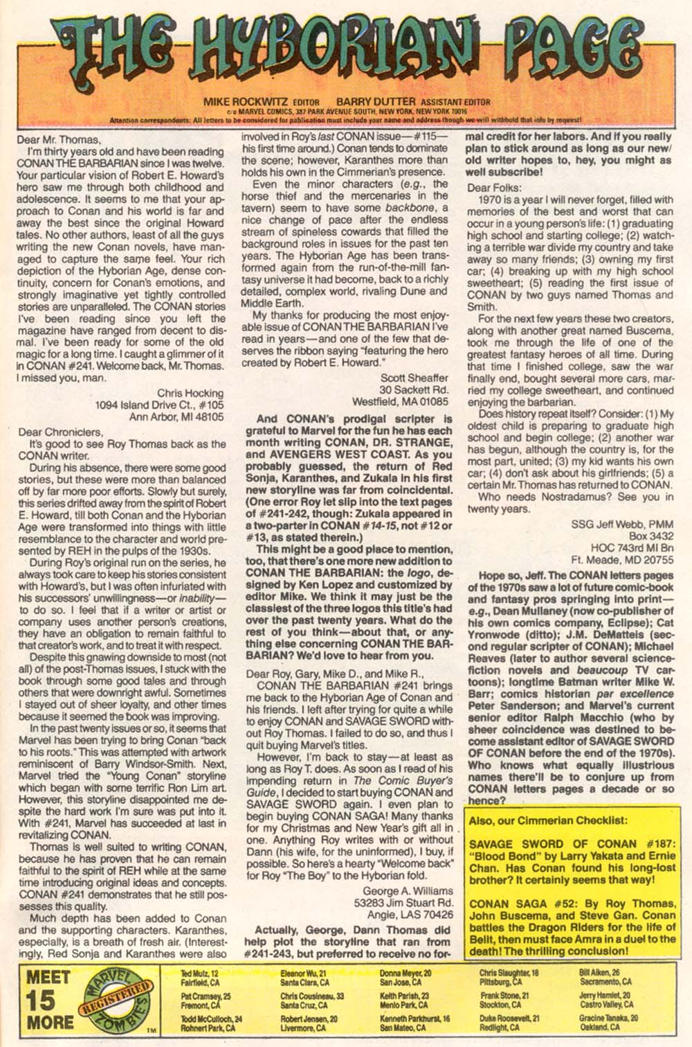 Conan the Barbarian (1970) Issue #246 #258 - English 24