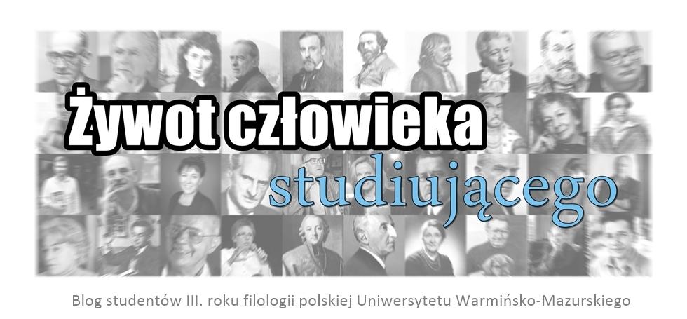 Blog studentów trzeciego roku filologii polskiej UWM