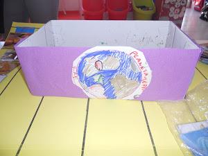 """A decoração da """"Caixa de filosofia"""""""