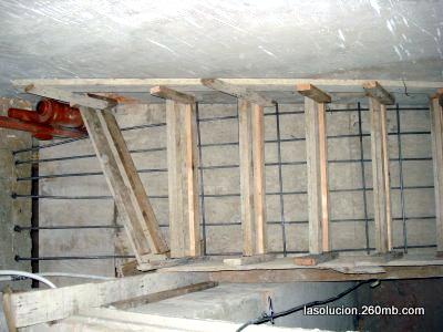 Construccion de escaleras de hormigon encofrado for Encofrado de escaleras de concreto