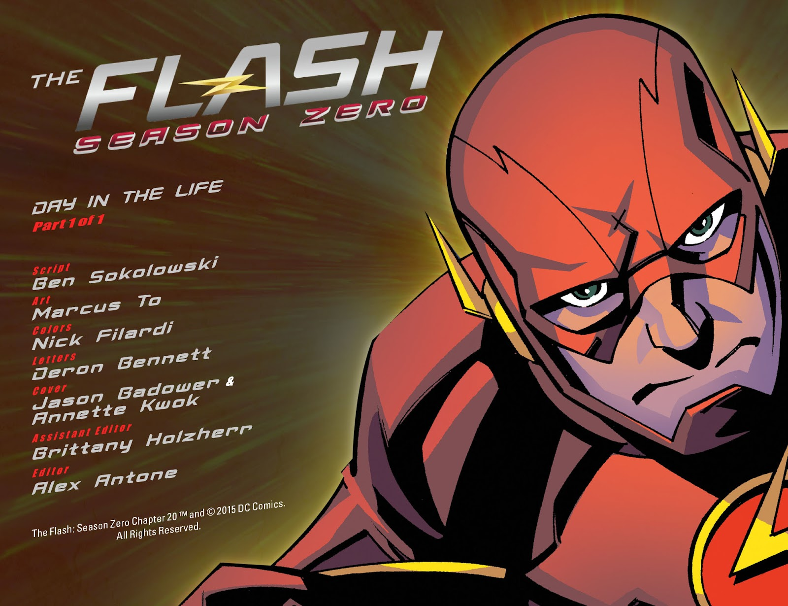 The Flash: Season Zero [I] Issue #20 #20 - English 2