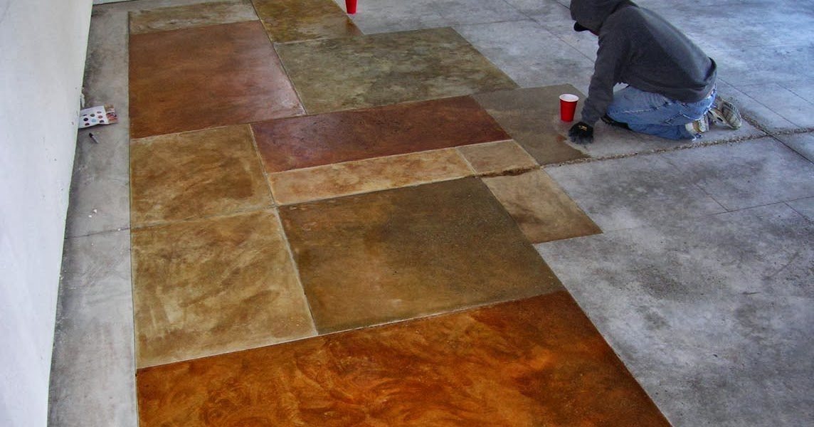 How Do You Stain Concrete : Concrete staining doctor what you need to know about