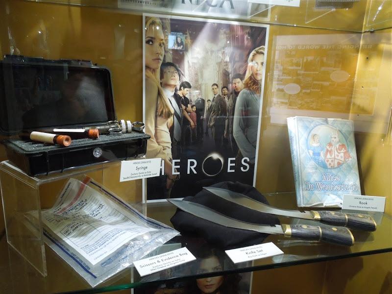 Heroes TV props