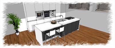 cucina ad isola