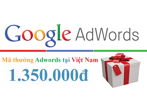 mã thưởng adwords - coupon google adwords