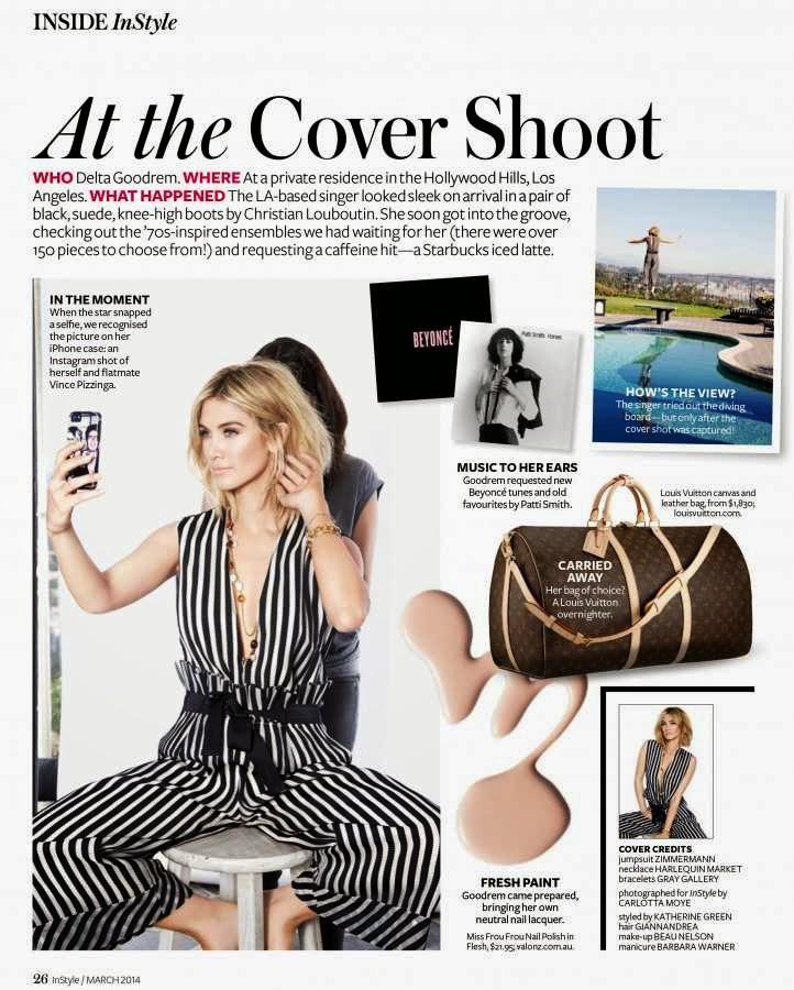 Gizele Oliveira HQ Pictures Elle Argentina Magazine Photoshoot February 2014 By Michael David Adams