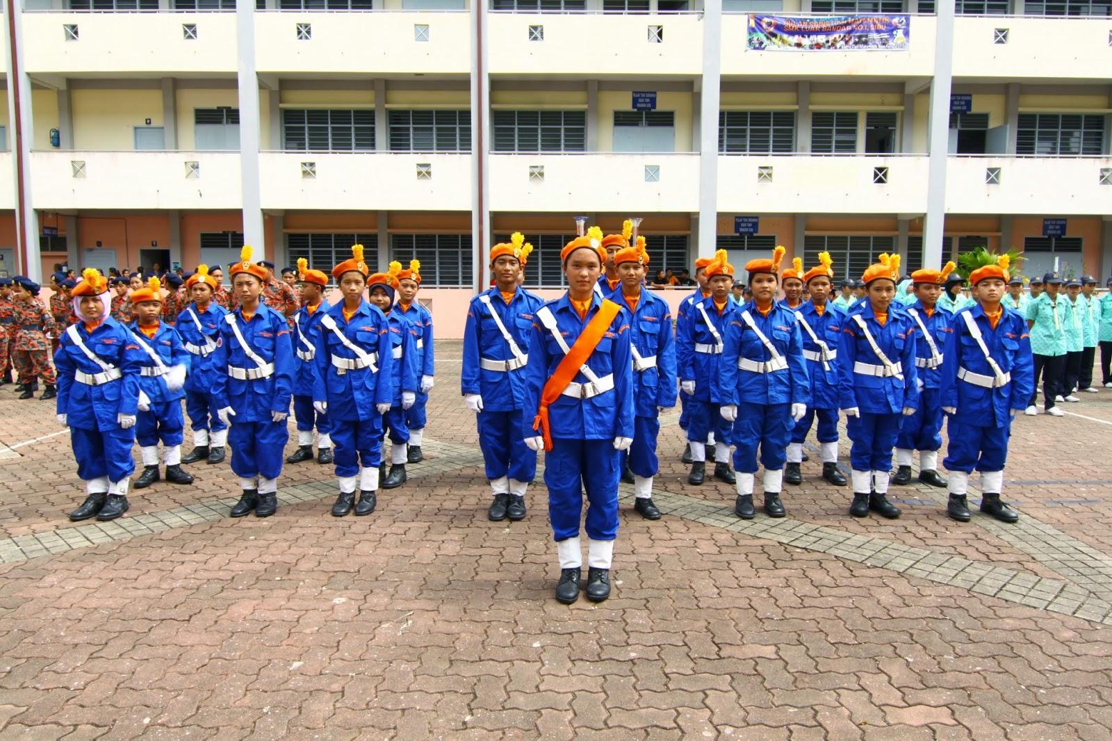 Pasukan KAPA mendapat tempat ketiga dalam Pertandingan Kawad Kaki