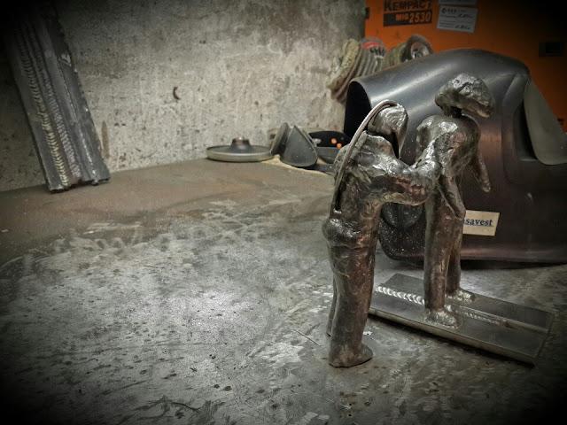 Сварочная скульптура