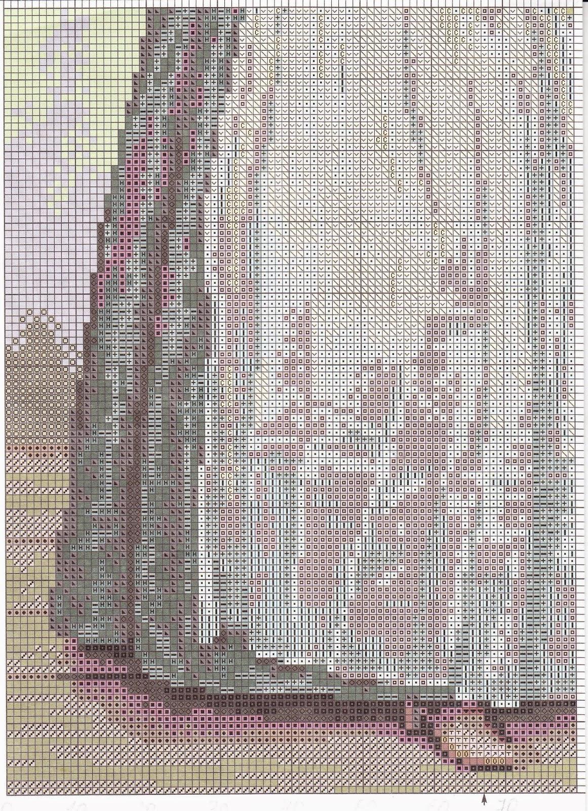 Шоколадница лиотар схема вышивки 931