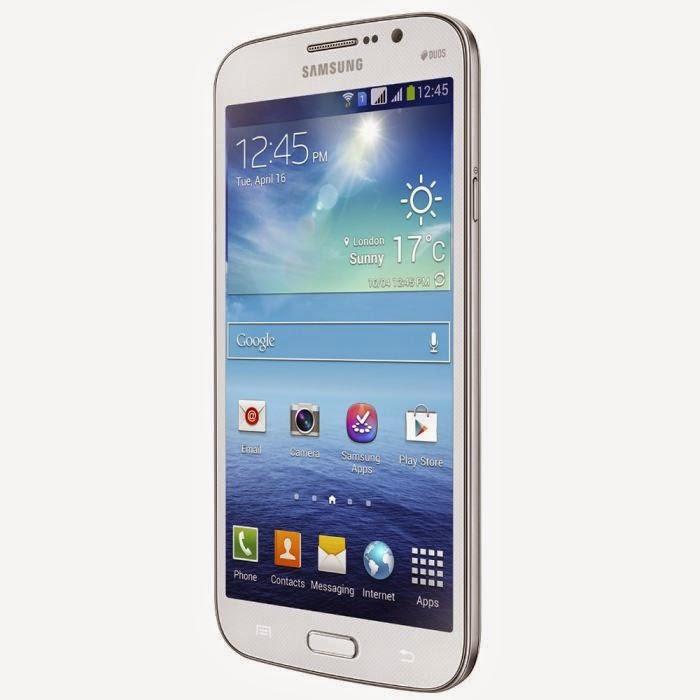 Smartphone Samsung Galaxy Mega Blanc 6.3 4G
