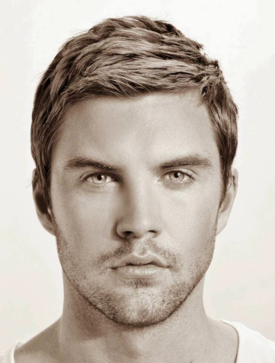 2014 Short Hairstyles for Men with Hair