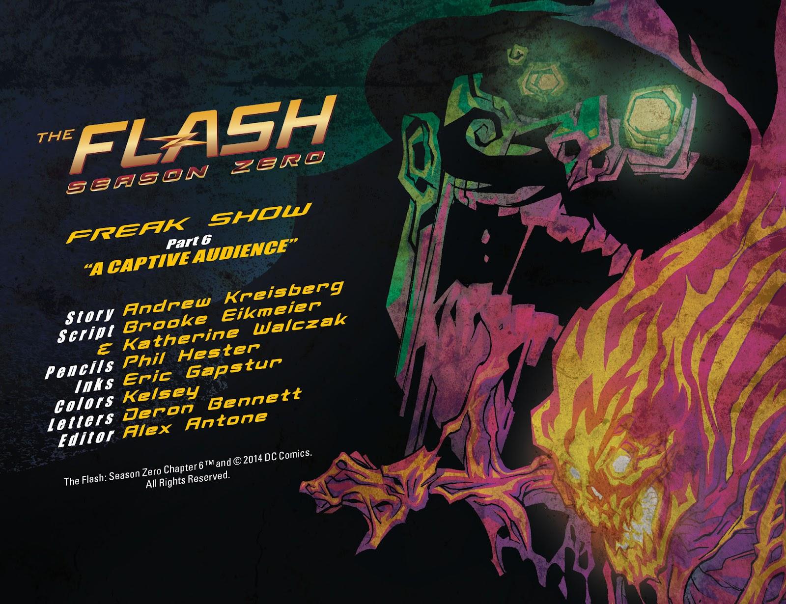 The Flash: Season Zero [I] Issue #6 #6 - English 2