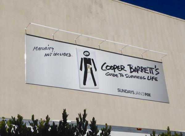 Cooper Barrett's Guide Surviving Life billboard