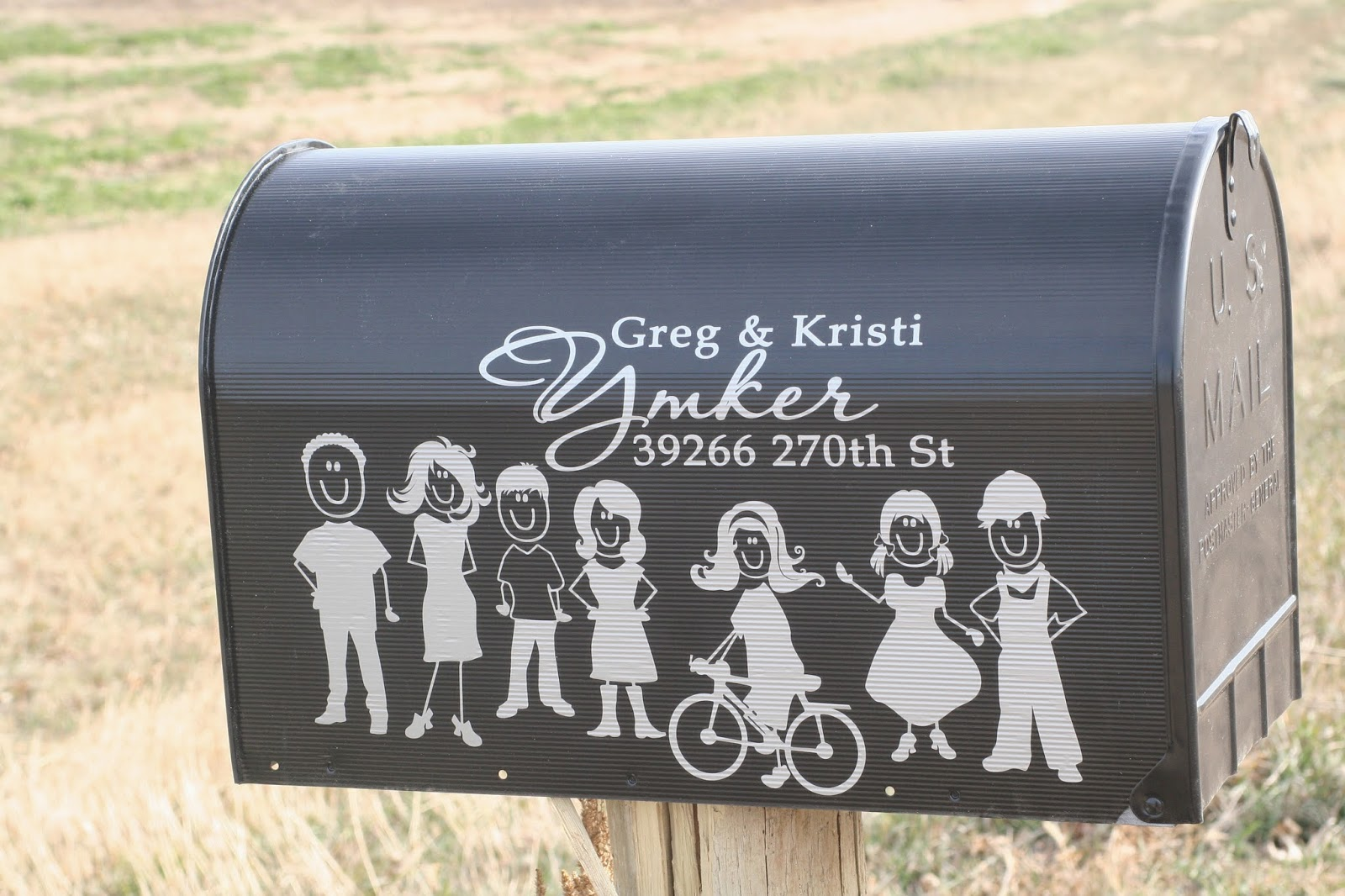 All About Wall Decals For The Home Custom Mailbox Decals Say - Custom vinyl decals for mailbox