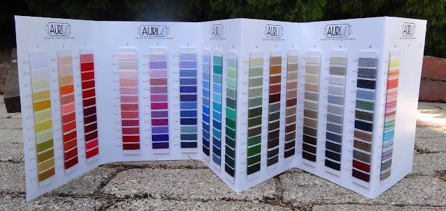 an aurifil lana wool thread colour chart - Aurifil Thread Color Chart