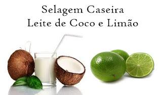 leite de coco e limão. reduz o volume, ajuda com o frizz, alisa gradativamente