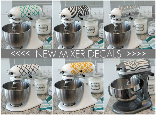 Kitchenaid Mixer Decals Ideas ~ Diy gift packaging for the holidays