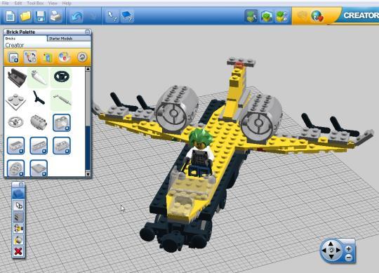 Warren Sparrow Lego Digital Designer