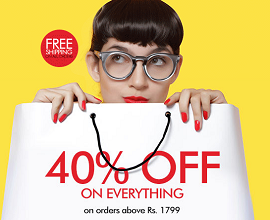 Myntra : The freaky friday sale | 40% off on everything | Myntra cashback upto Rs 200 from buytoearn