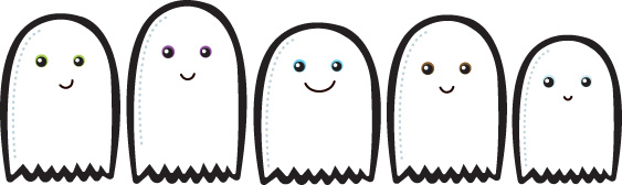 the chocolate chip ghost story - Halloween Ghost Printables