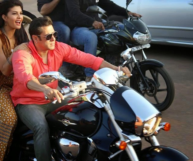 jacqueline fernandez with salman khan in kick