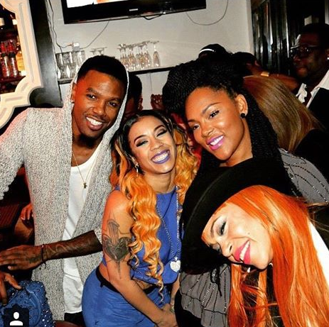 Daniel Gibson and Keyshia Cole Getting Back Close Together At An Event