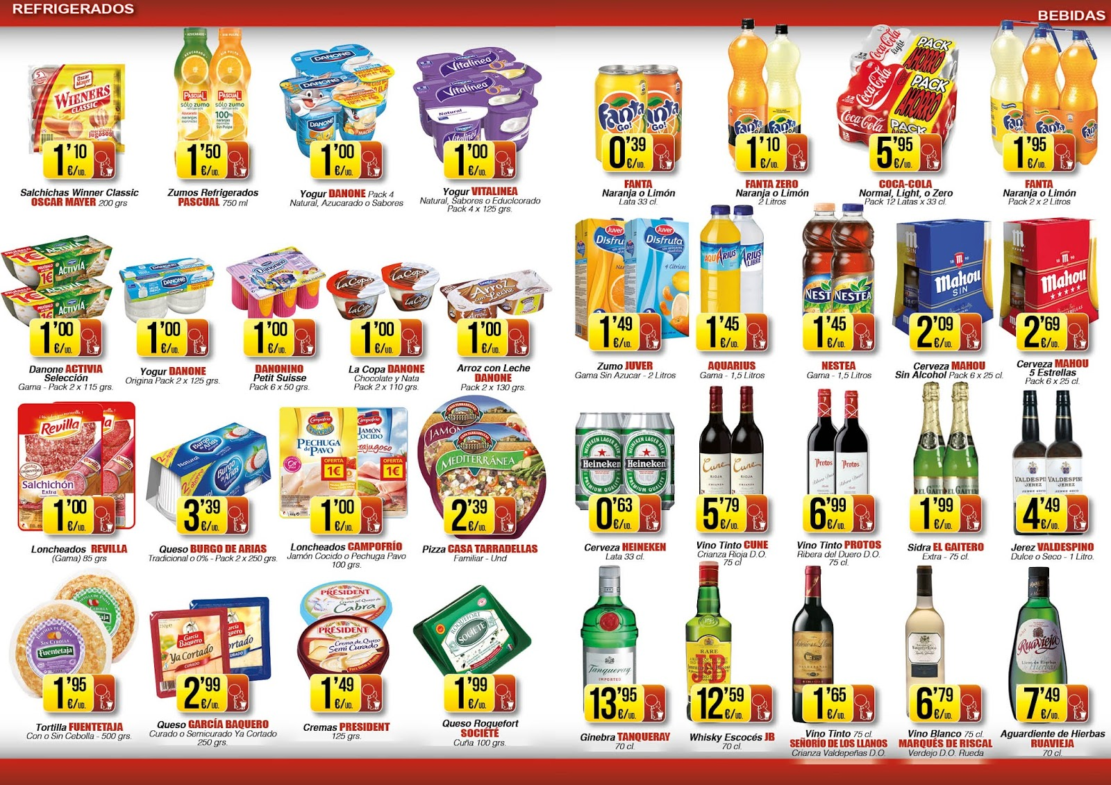 Folletos supermercados