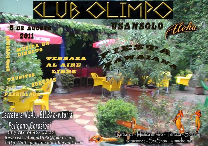 Club olimpo usansolo for Jardines de olimpo