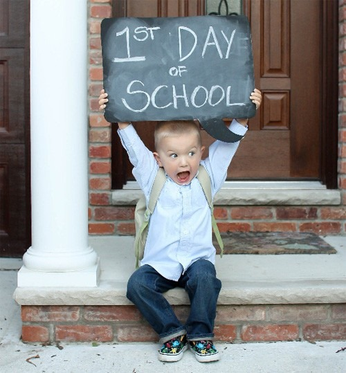 Image result for children going to school for first time
