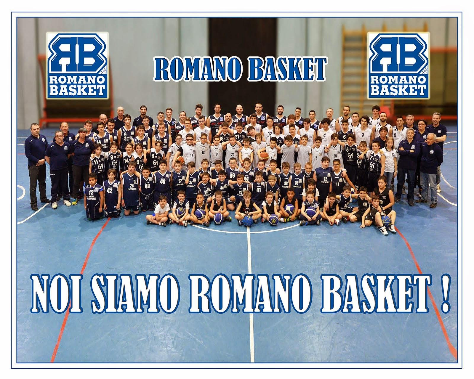 NOI SIAMO ROMANO BASKET