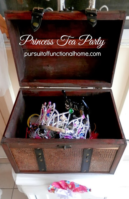 Princess Tea Party Ideas, decorations