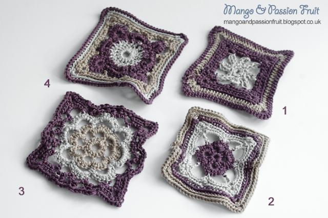 Afghan Pattern 3 - Granny Flower